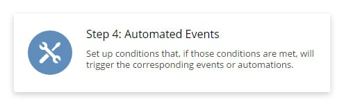 Step 4 Automated Events