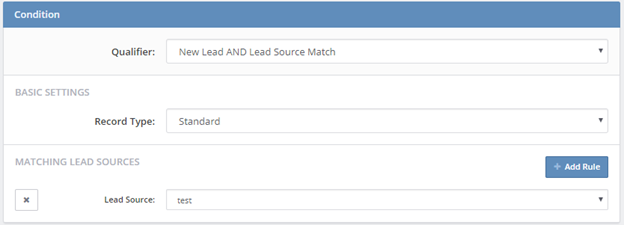 New Lead AND Lead Source Match