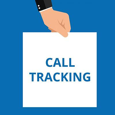 Call Tracking Sign