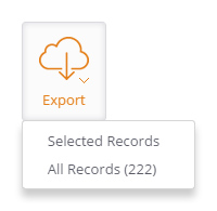 Export Dropdown